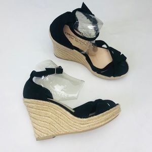 Sexy Ankle Strap Espadrille Wedges Cute Summer
